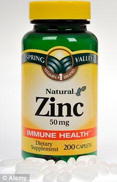 """Empyrea Recommends """"Zinc 50mg"""""""