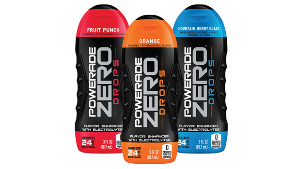 "Empyrea Recommends ""Powerade ZERO Drops"""