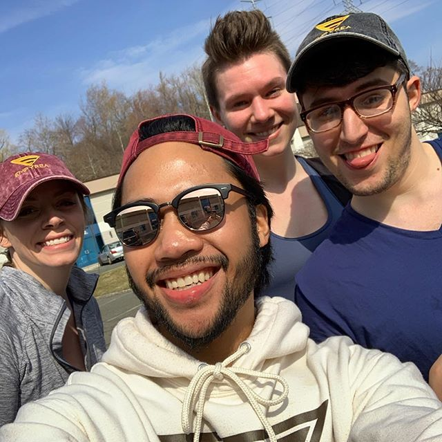 Sunshine, 2000's Dance Music and a whole lot of positive vibes! It's time for fun in the sun - LETS GOO! @carlthe_trainer 🌞 Outdoor Workouts are officially kicked off here at Empyrea Group Training in Cedar Grove. Studies have shown working out in sun increases total calories burned, endorphins and a natural uptake of Vitamin D! #winwinsituation 🌟 Please bring shoes to your workouts Empyreans - some training sessions may be a hybrid indoor/outdoor workout. Thank you also for wearing the new hats and swag - appreciate your support! See you all soon! #fitnessmotivation 🏃🏽‍♀️ #trainempyrean #motivationmonday #fitness #fitnessgirl #fitnessgirls #fitlife #fitfam #fitgirl #fitgirlsguide #fitgirls #fitmen #training #grouptraining #workout #workoutmotivation #exercise #trainer #personaltrainer #apparel #apparelbrand #positivevibes #positivity #energy #happy #flex #cedargrovenj #cedargrovefitness #coaching
