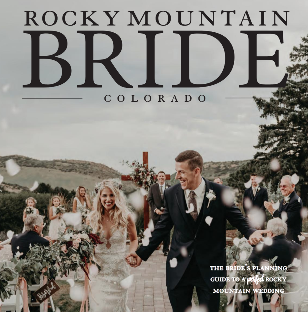 In The Press: Rocky Mountain Bride