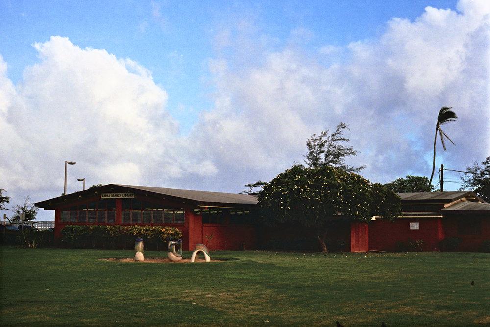 Kapa'a Branch Library - 35mm