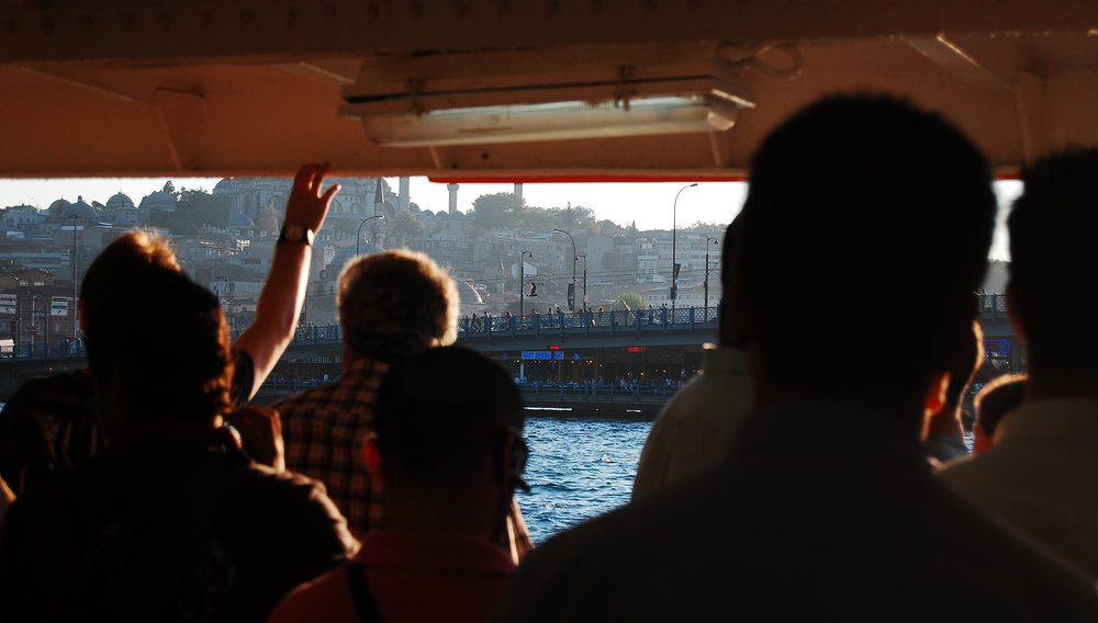 Ferry in Istanbul - 2007