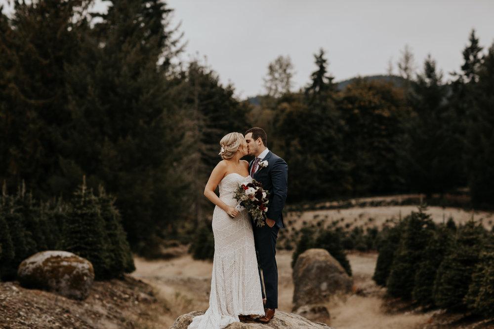 Carli + Lance  Trinity Tree Farm
