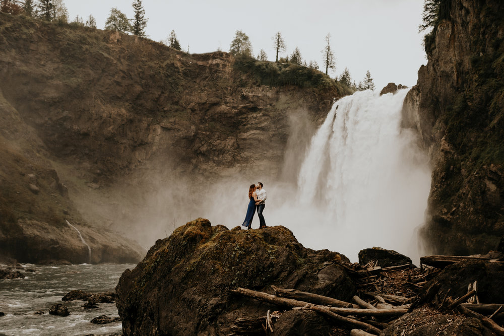 Carly + Andrew   SNOQUALMIE FALLS