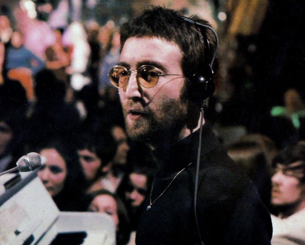 John Lennon performing Instant Karma! on Top of the Pops, February 11th 1970, ON  BEATLES BY DAY .