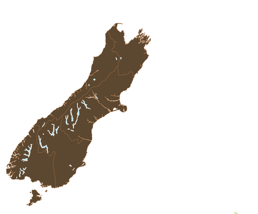 South Island Areas for Disability Information