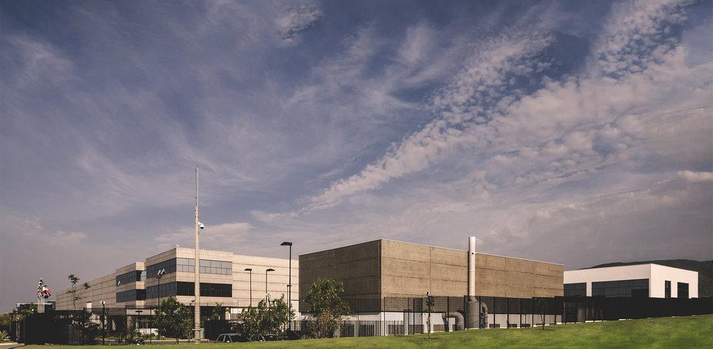 Fábrica matriz, localizada em Jundiaí - SP