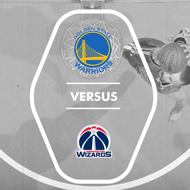 Come in at 4pm to watch the Splash Brothers take on 4th Ranked Wizards at our Larger New Bar.  #LetsGoWarriors