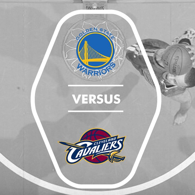 Game recognize game in the bay day. Come watch the Warriors play LeBron James and the Cavaliers at 5pm #LetsGoWarriors