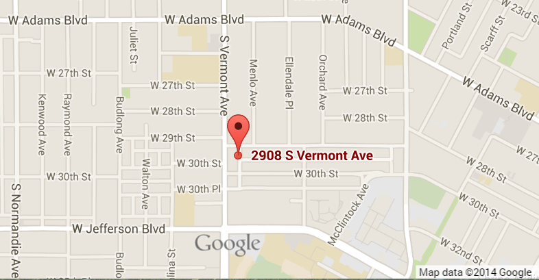 2908 S. Vermont Ave Los angeles, CA 90007