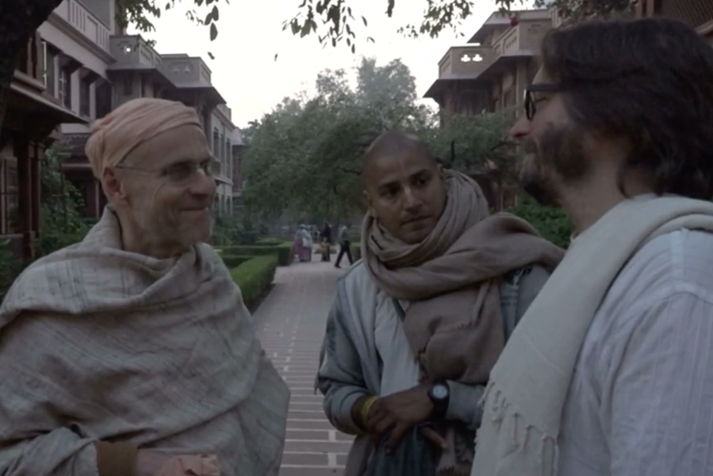 The trip is also an inner journey, how have Ravinol's views towards women changed from when he was a monk?
