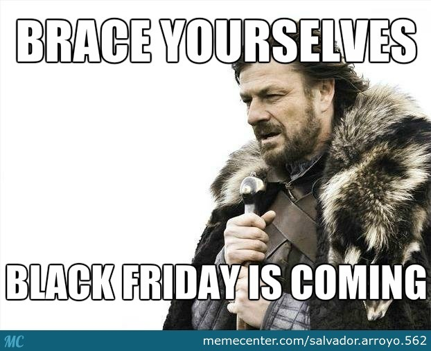 Which is worse? Black Friday queues in the shops or today's conditioning piece?