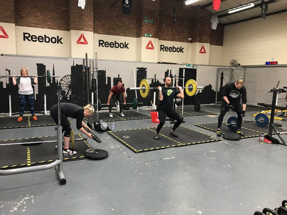 It's all going (up and) down in Barbell club