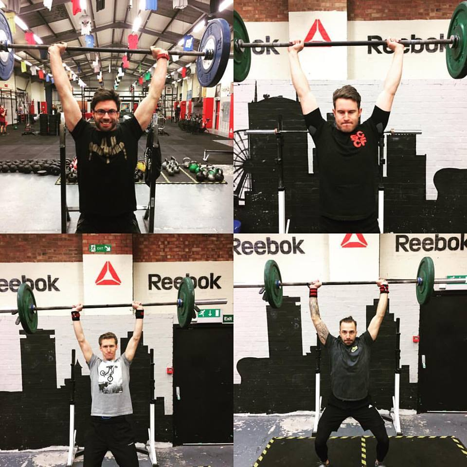 The many faces of a push jerk