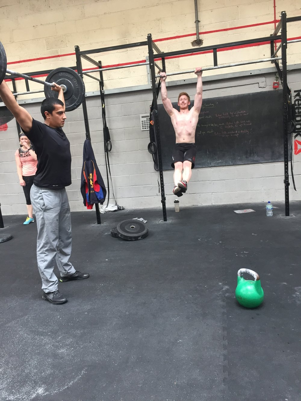 Thursday 4rd May Second City Crossfit