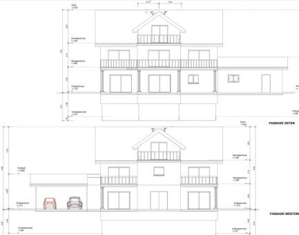 Baueingabe Baubewilligung EFH DeinBauprojekt