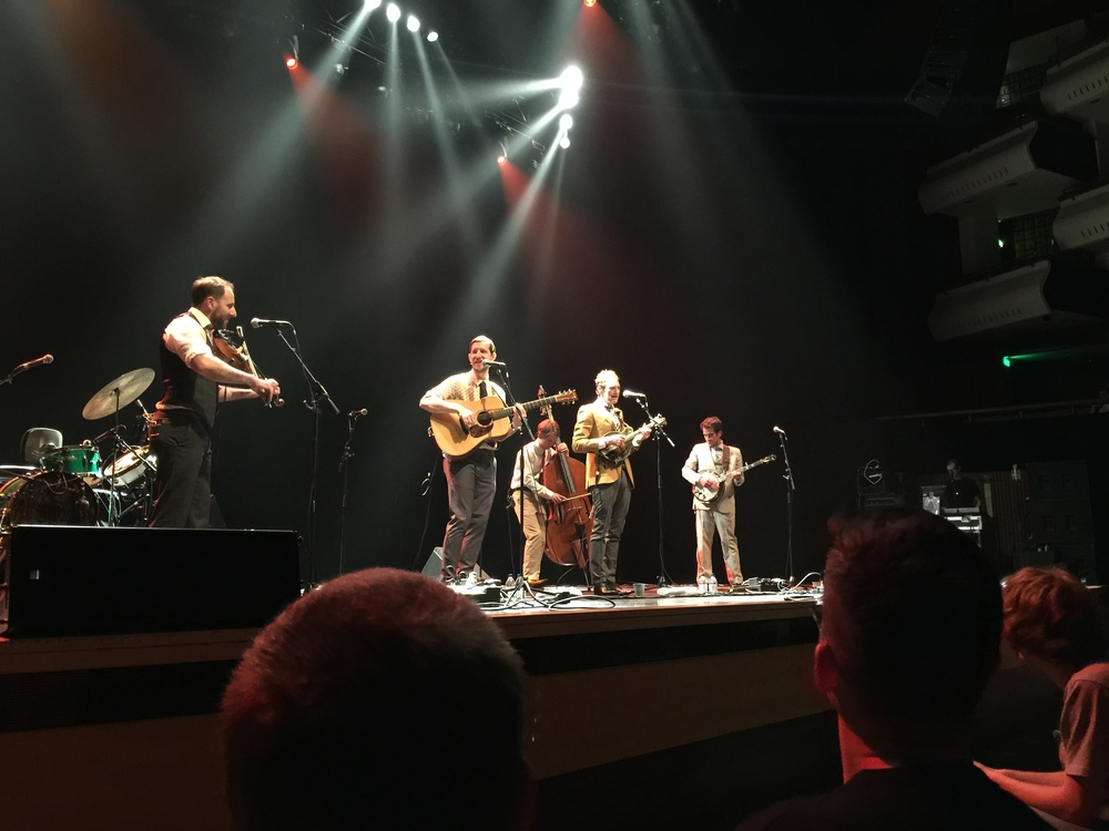 Third time in 2015 of seeing the Punch Brothers