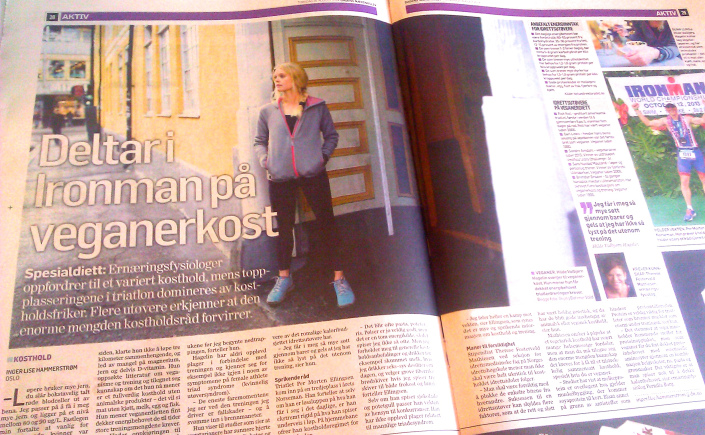 DN Aktiv intervju Vegetarløperen 28. august.jpg