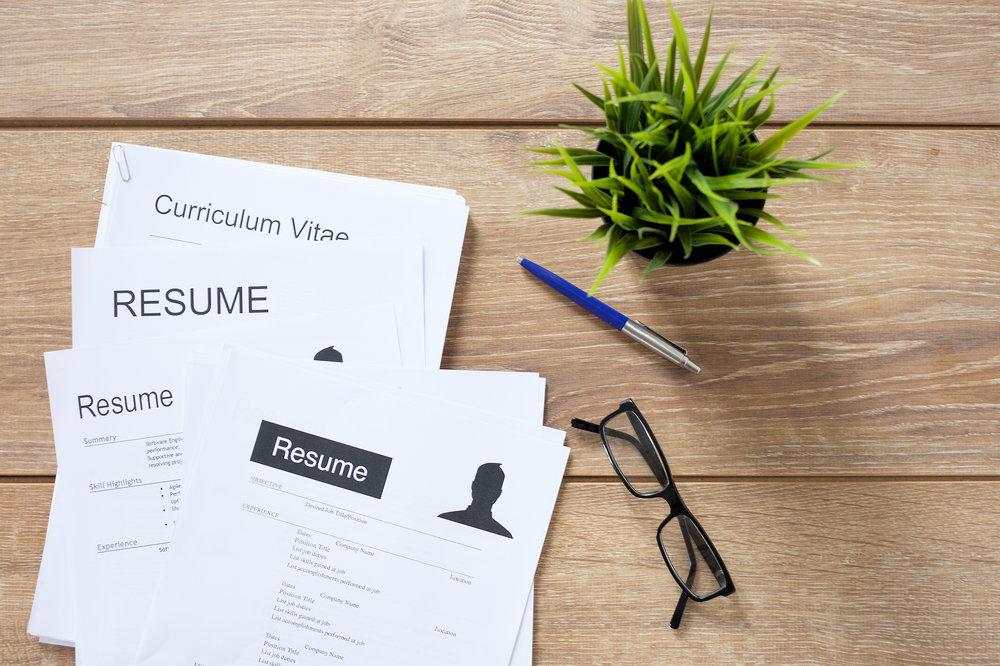 CV og profesjonell bakgrunn -