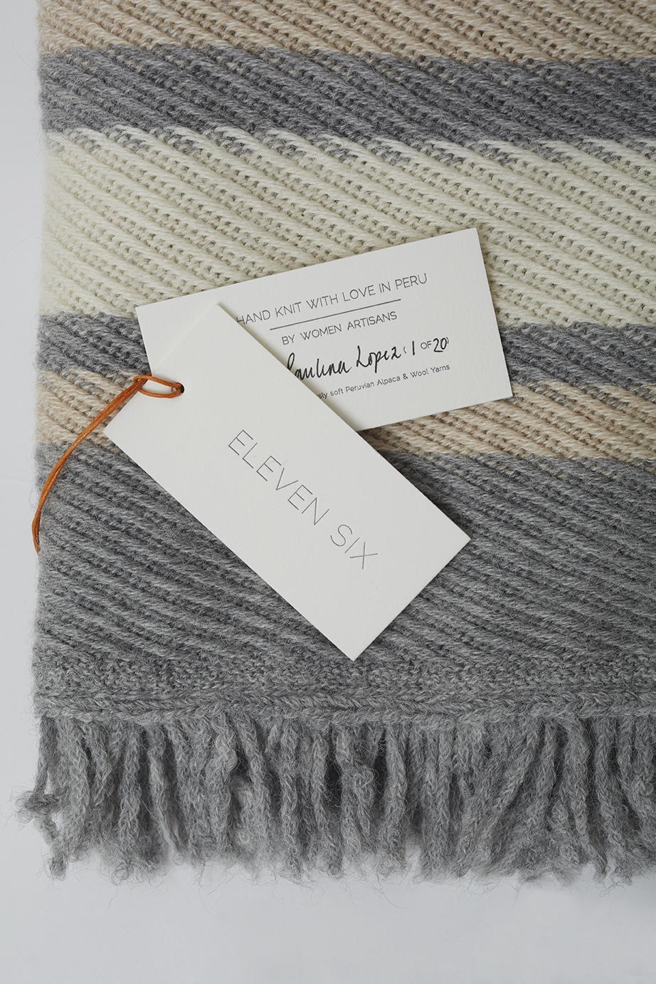SOPHIA BABY BLANKET SIGNED HANG TAGS, $225.   SHOP HERE