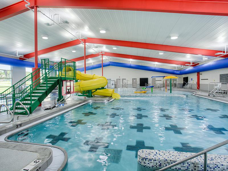 Doling Aquatic Center utilizes Solatubes to reduce their electric costs and provide natural daylight