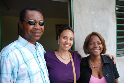 The team met with Elizabeth Woolley, now our local lawyer who is helping us to navigate through Haitian laws to set up a contract for the site, as well as establish COHP in Port-au-Prince.
