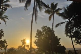 ...a beautifulmorning sunrise in Kerala