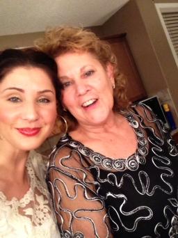 ...our similar joyful spirits united fora festive mom & me #Selfie (Christmas 2013)