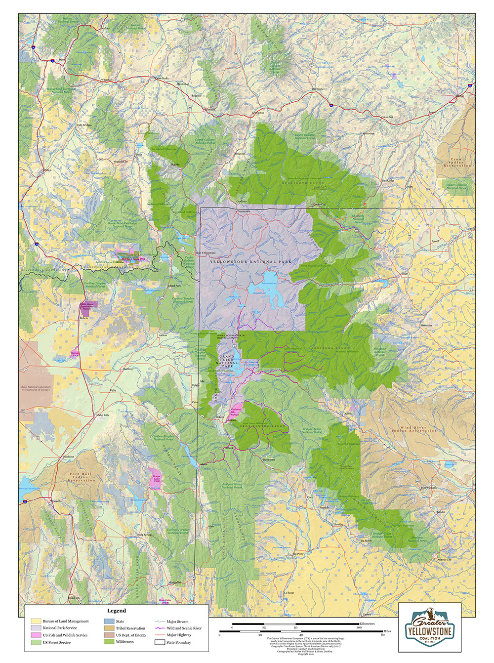 Map — Greater Yellowstone Coalition
