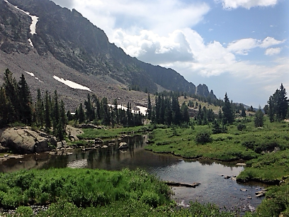Cottonwood Creek, in Montana's Crazy Mountains. (Photo GYC.)