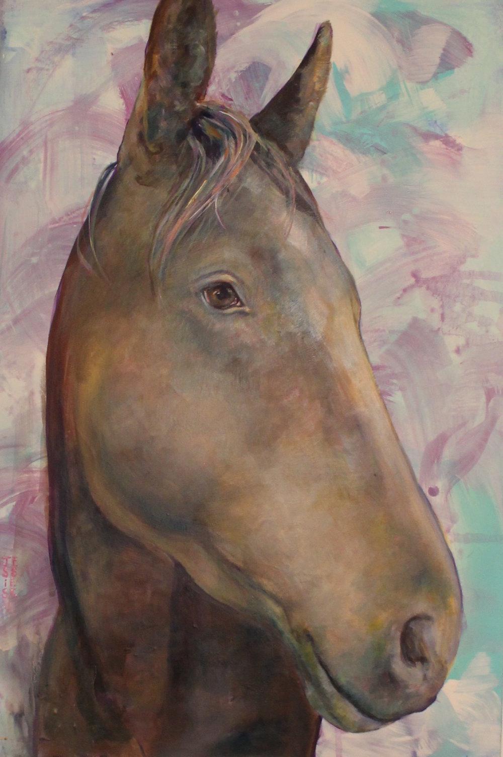 """""""Horses Dream Too"""" 24""""x36"""""""