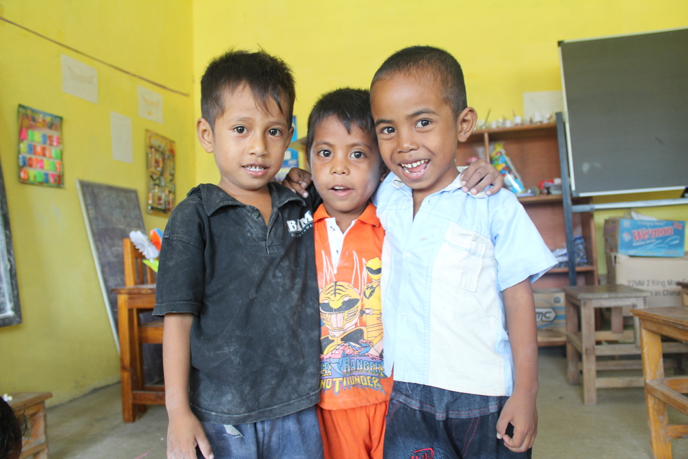 Children in Timor-Leste, sponsored through ChildFund.
