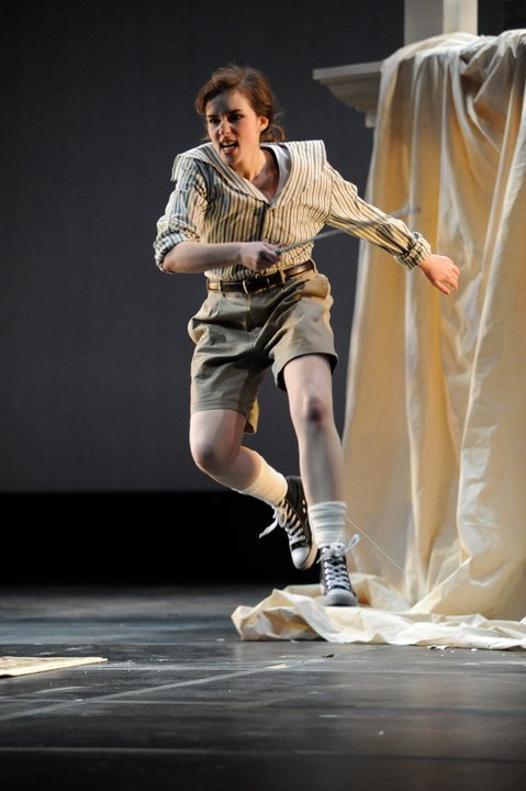 As the title role in  L'enfant et les Sortilèges.