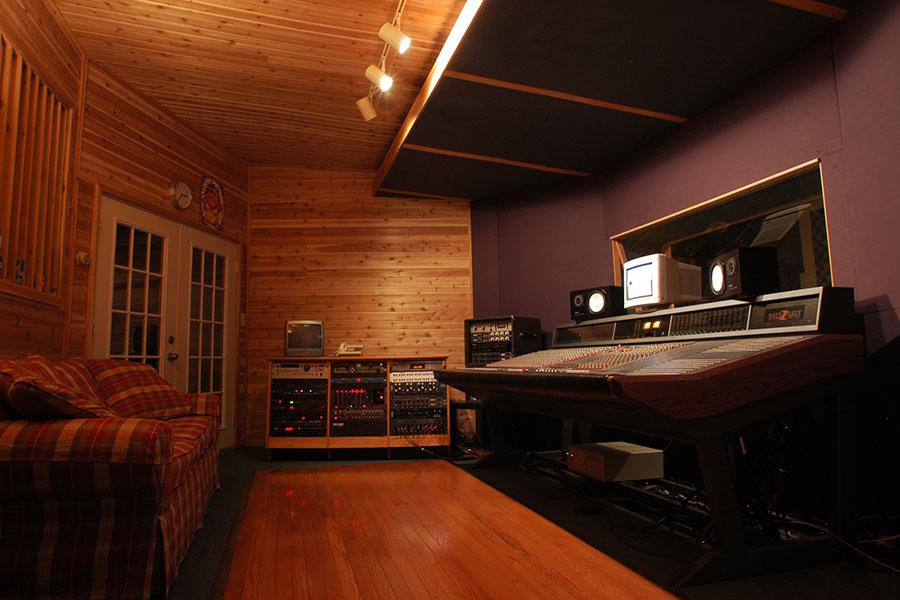 Studio B control room