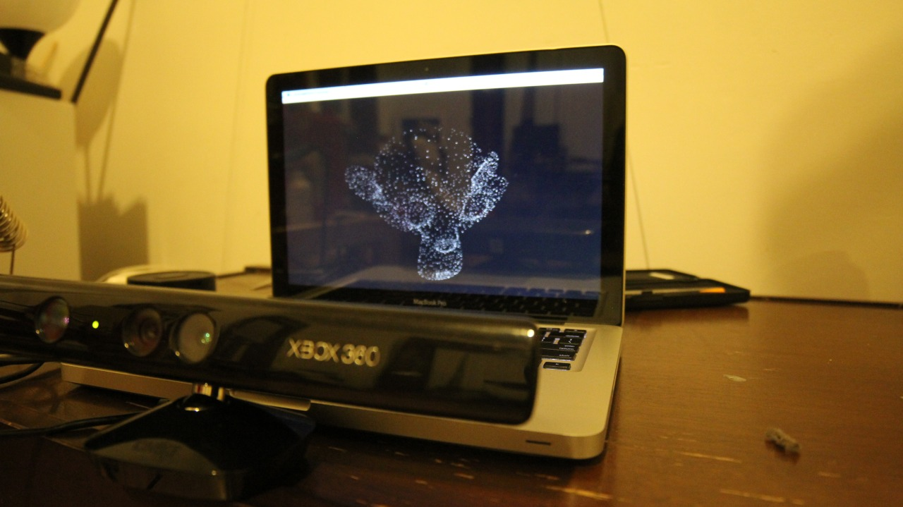 Kinect + Processing 2.0    Real 3D