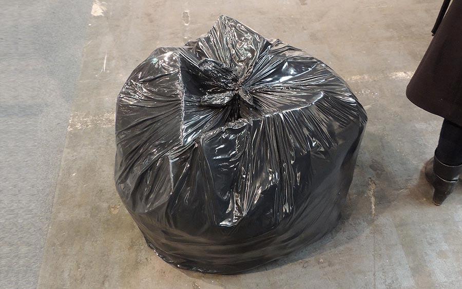 http://www.artsology.com/gavin-turk-garbage-bag.php