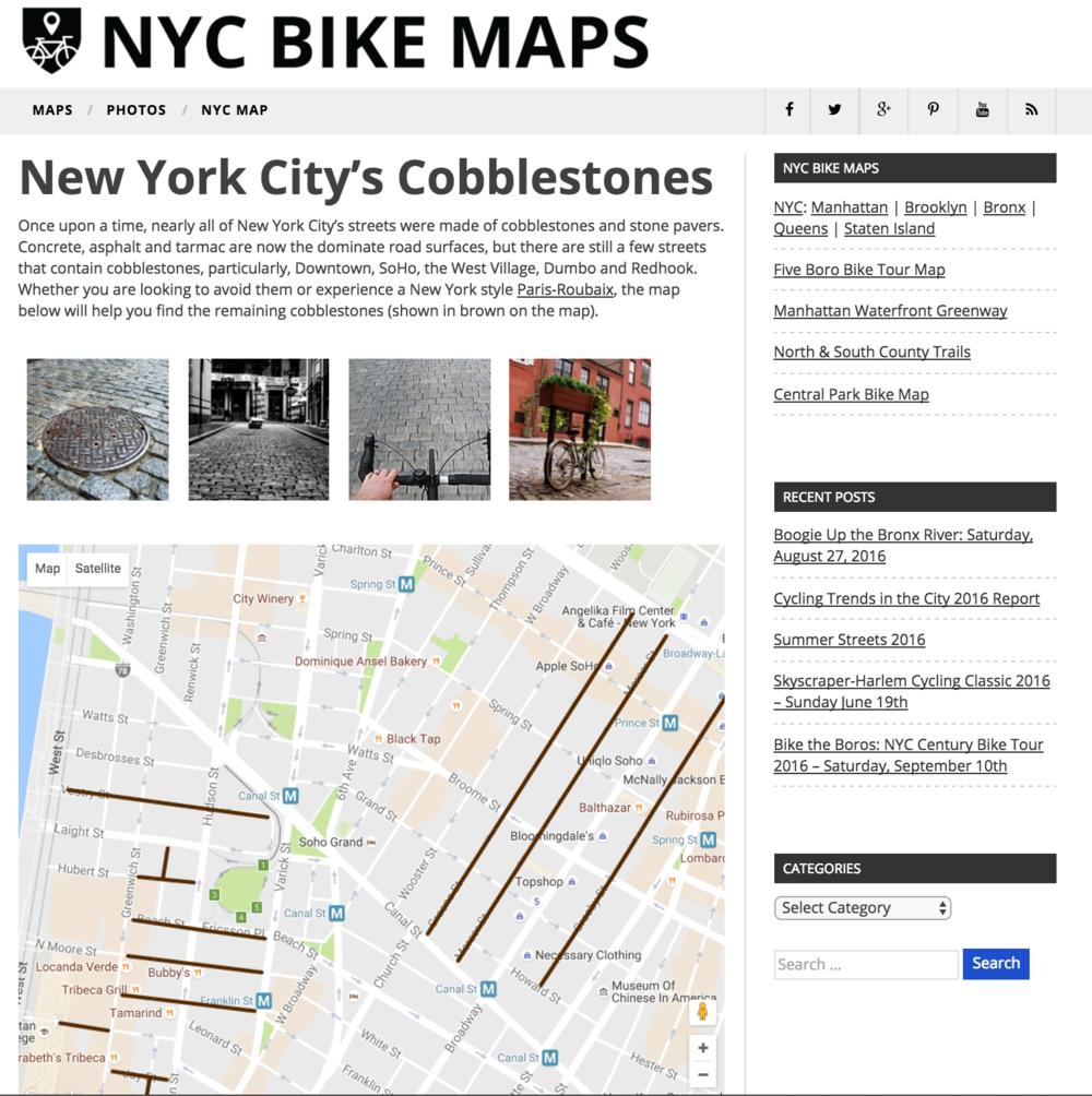 http://www.nycbikemaps.com/maps/cobblestones/