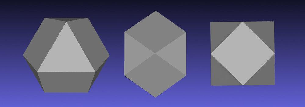 Symmetrical planes