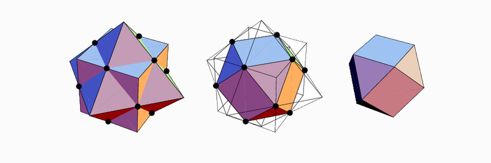Cubeoctahedron  formation
