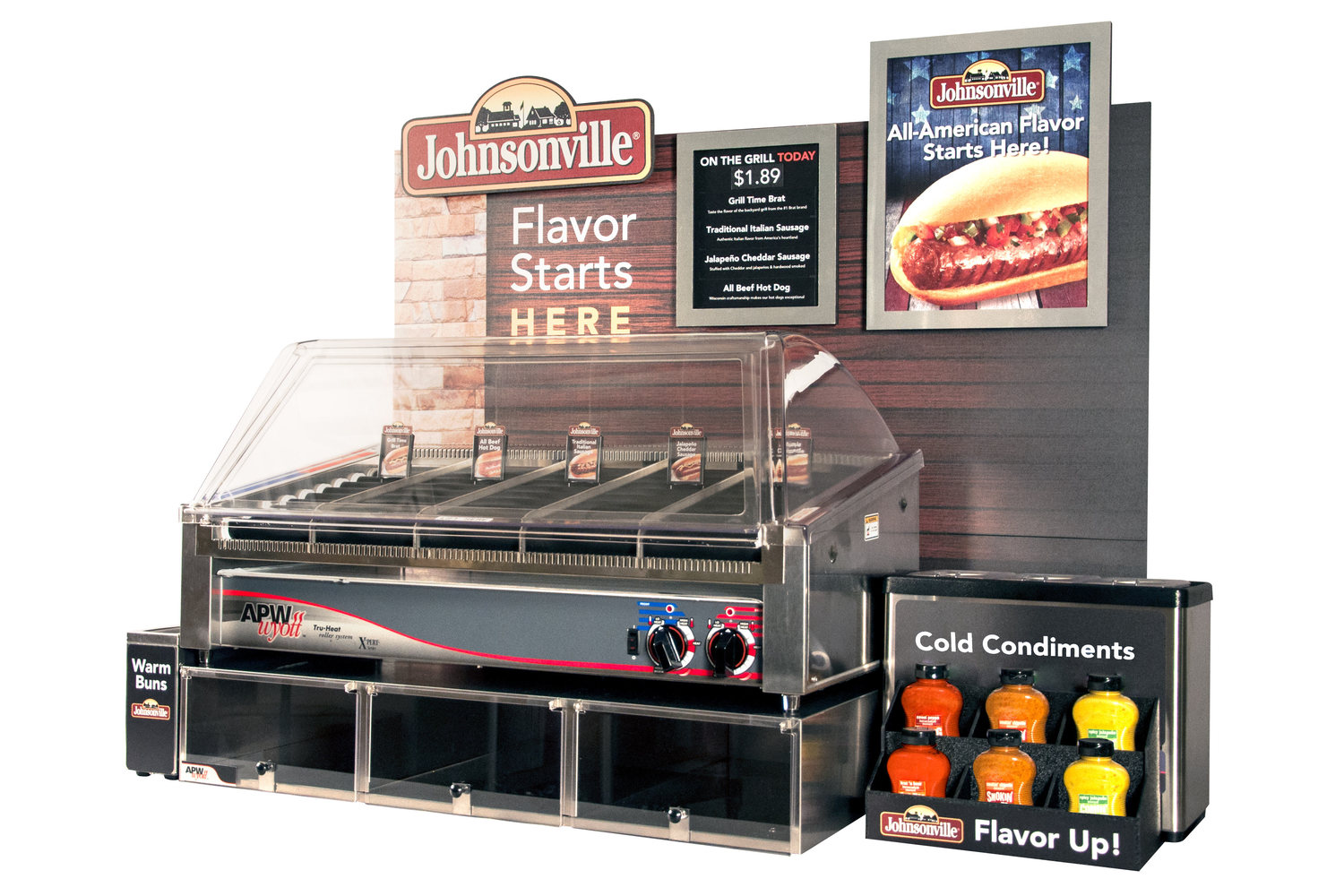 branded merchandising food concepts inc johnsonville merchandiser large branded merchandising beer merchandiser beer merchandiser - Beer Merchandiser
