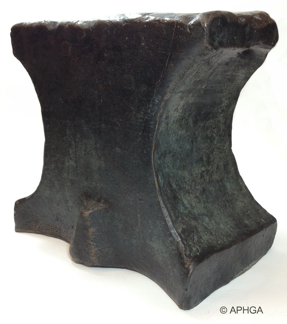 The Pomeroy anvil is symbolic of the Pomeroy family in America. Click here to learn more.