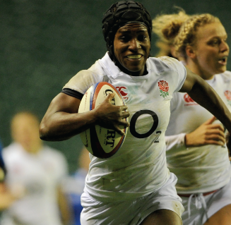Maggie Alphonsi MBE,   Rugby World Cup winner, broadcaster and speaker
