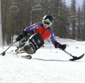 Anna Turney,   Paralympic skier, speaker and motivator