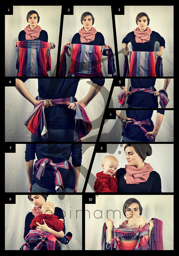 Instructions Obimama Hand Made Mei Tai Baby Carriers