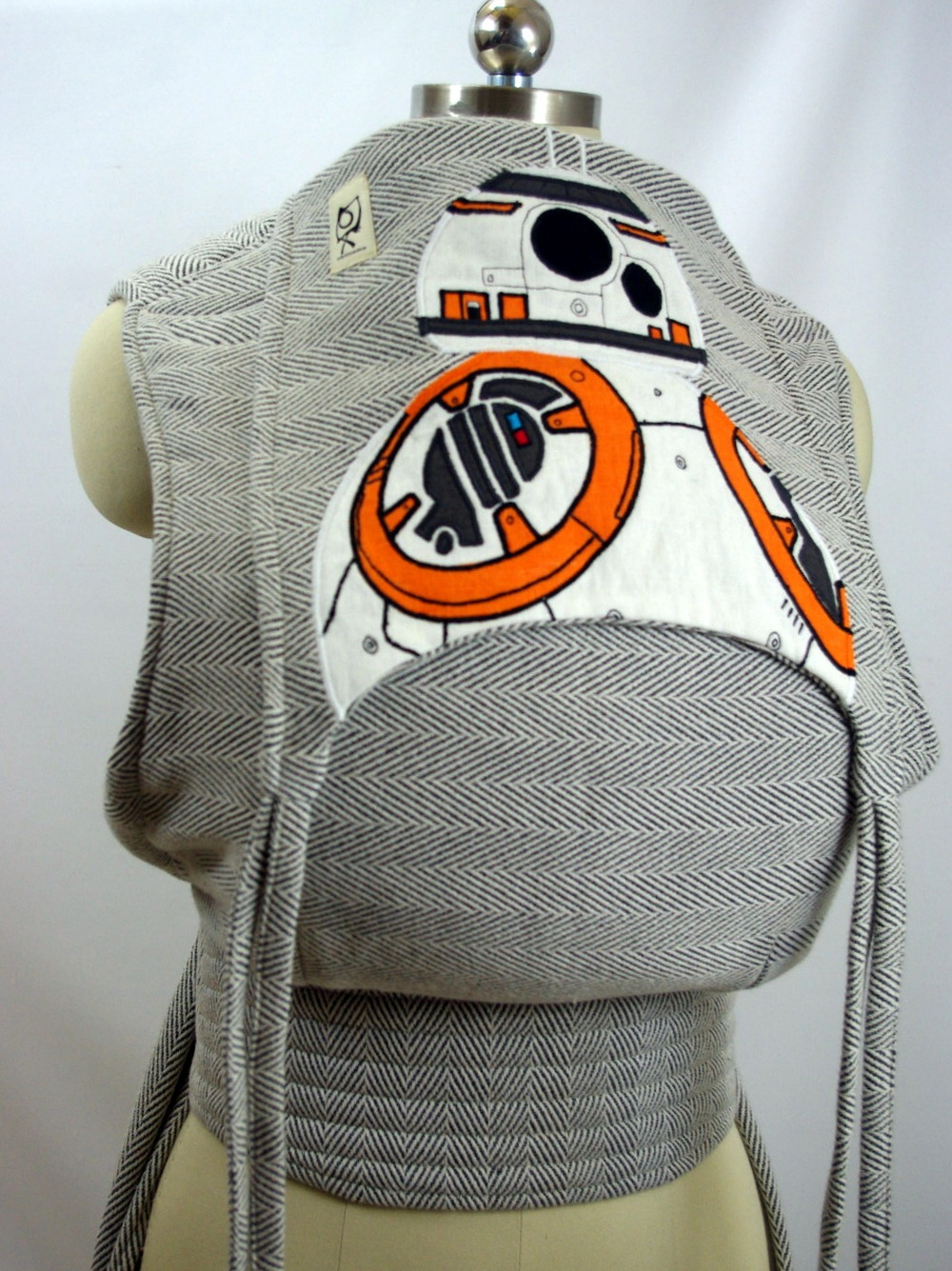STAR WARS INSPIRED BB8 ObiMama Wrap Conversion Mei Tai