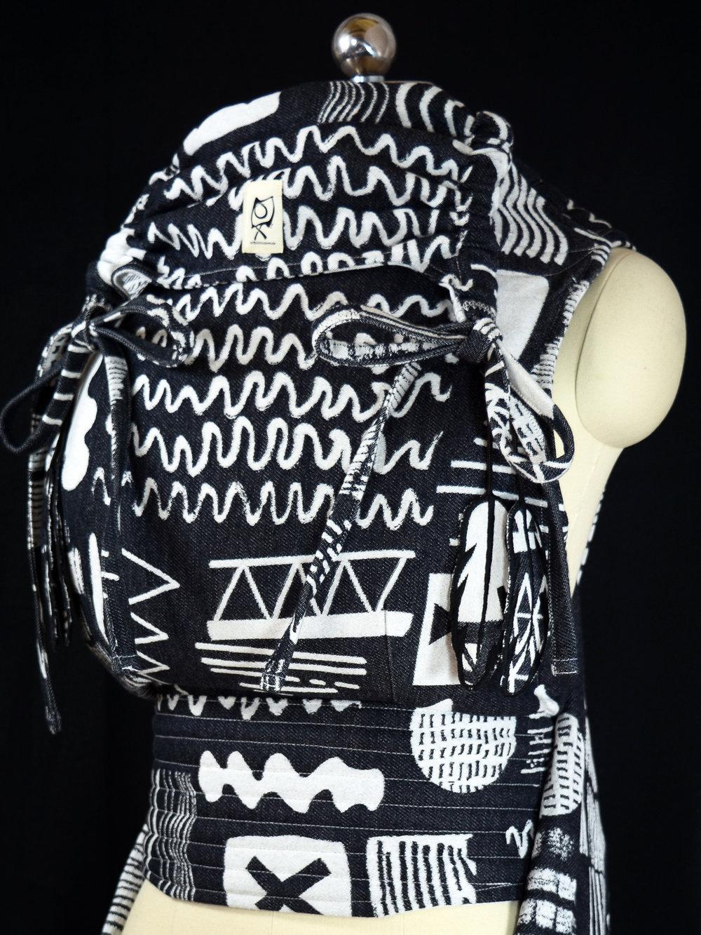 "ObiMama WCMT/WCMD Ankalia Textiles' Etch ""Kohl"""