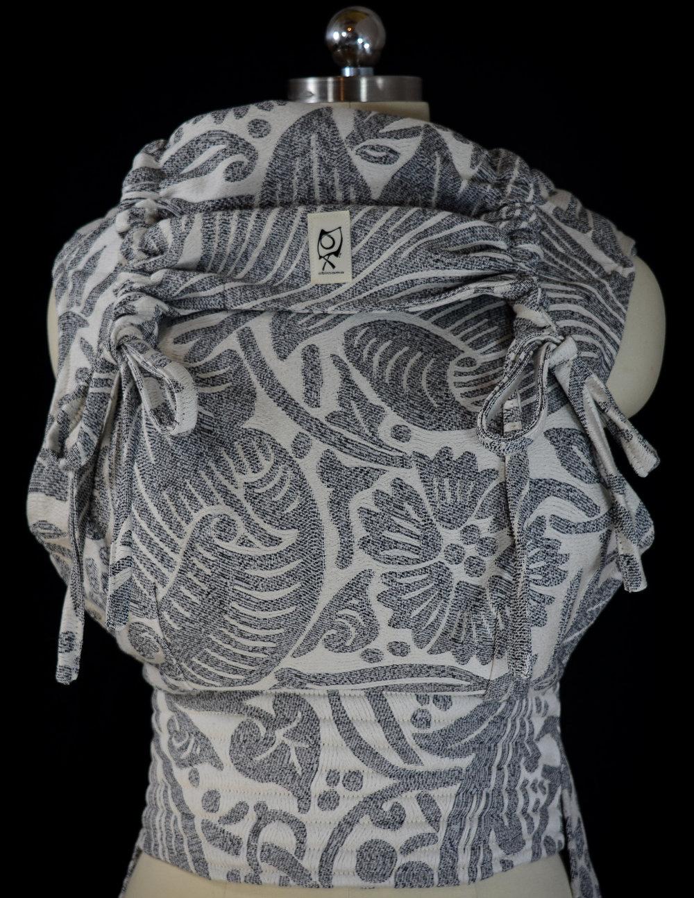 """ObiMama WCMT/WCMD Pavo Textiles Farrand """"Soir"""""""