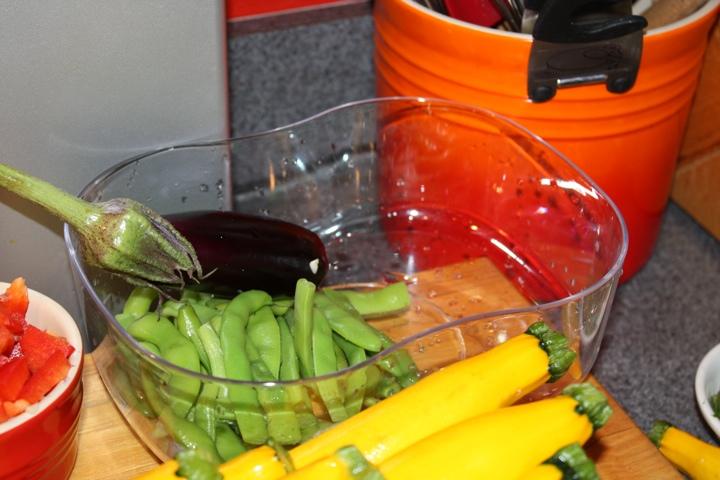 veggies to prep