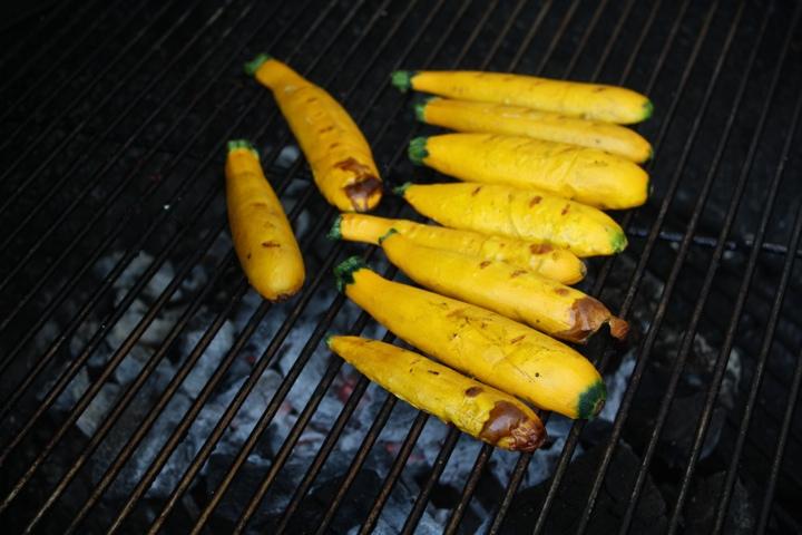 yellow zucchini from Gorman Farm