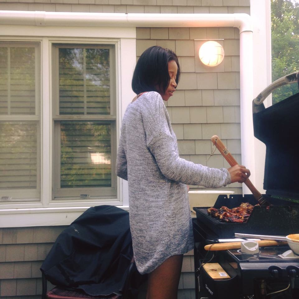 That time I grilled.